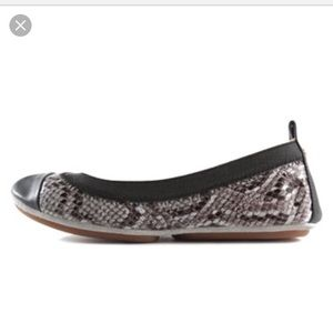 Yosi Samra Shoes - Yosi Samra Snake Print flat in smoke